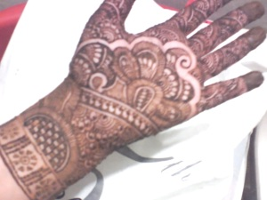 Mehendi....no occasion. Just like that :)