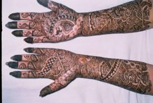 Mehendi for Bag's on her wedding