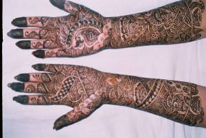 Mehendi for Bag's on her wedding